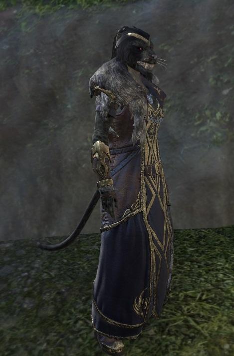 Werewolf Lord Female Khajiit ESO