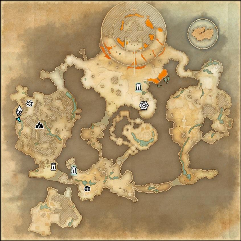 Blackreach Map ESO Elder Scrolls Online