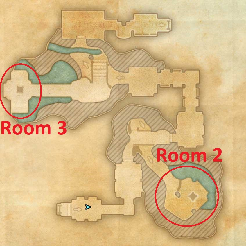 Stone Garden Dungeon Map 5_1 ESO