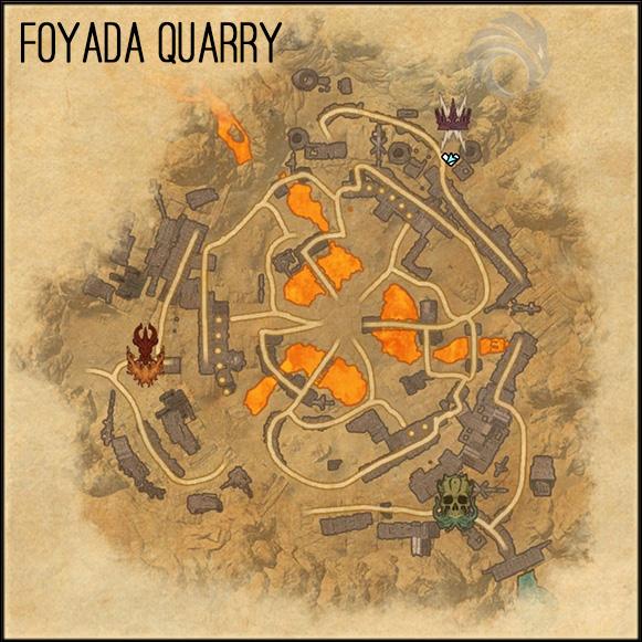 map foyada quarry