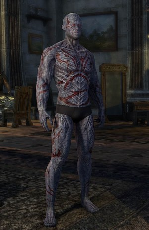 Dagon's Viscerent Skin Human Form ESO