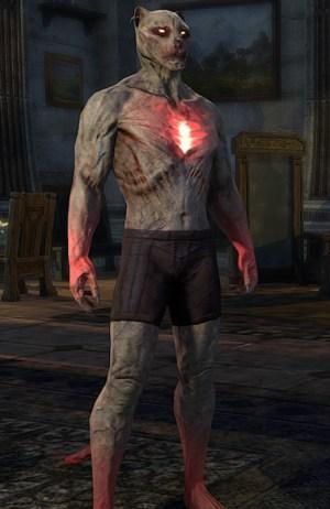 Reanimated Vampiric Thrall Skin khajiit form ESO