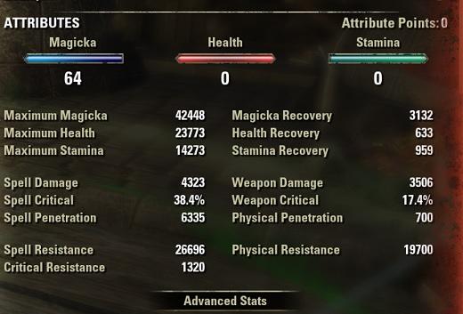 Warden Healer Build buffed stats ESO30
