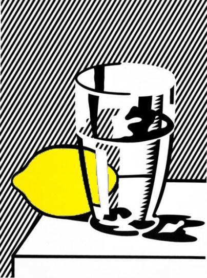 Litografía serigrafía en papel, Roy Lichtenstein, 1974