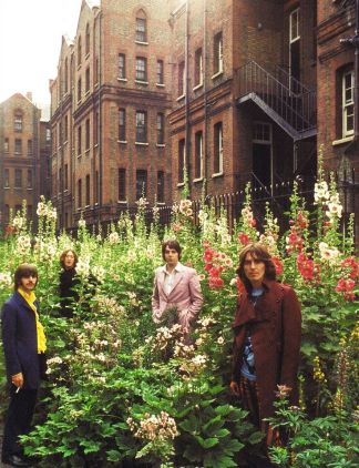 Beatles at St. Pancras Old Church and Gardens in London