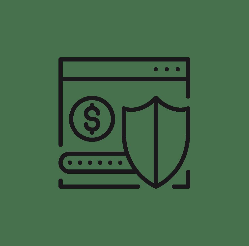 pictogramme pour le paiement sécurisé