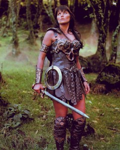 women in science fiction and fantasy - Xena image provenance unknown