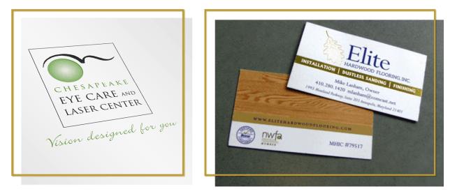 Business Card & Logo Design | Creative Services