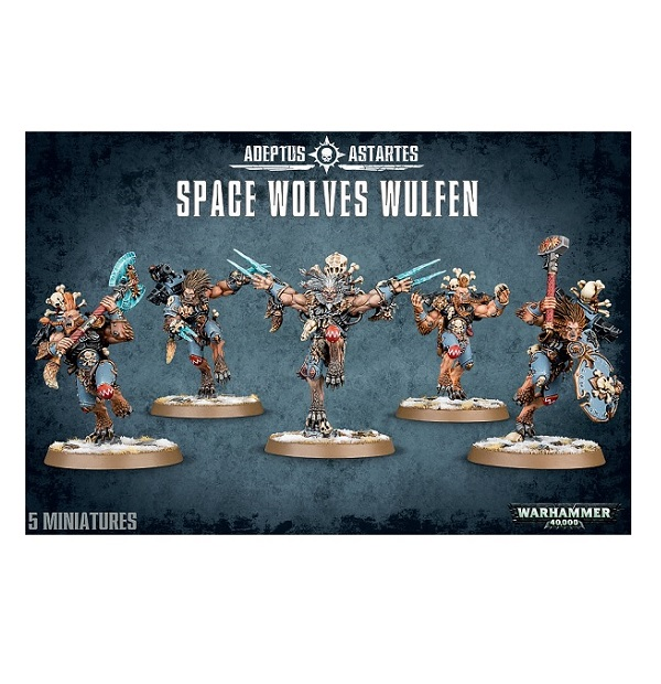 Space Wolves Wulfen
