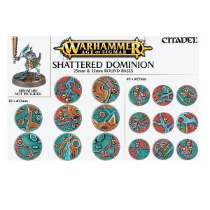 Shattered Dominion 25 & 32mm Round Bases