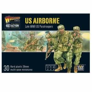 US Airborne plastic boxed set