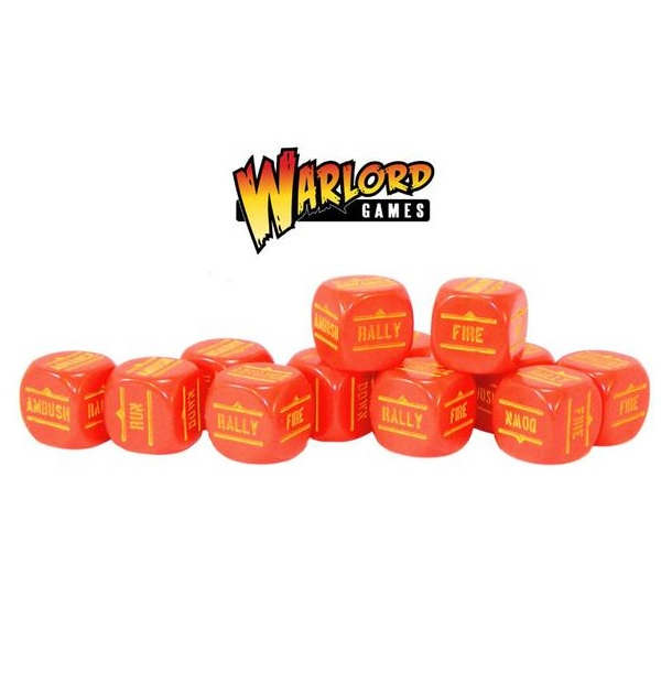 Red Order Dice pack
