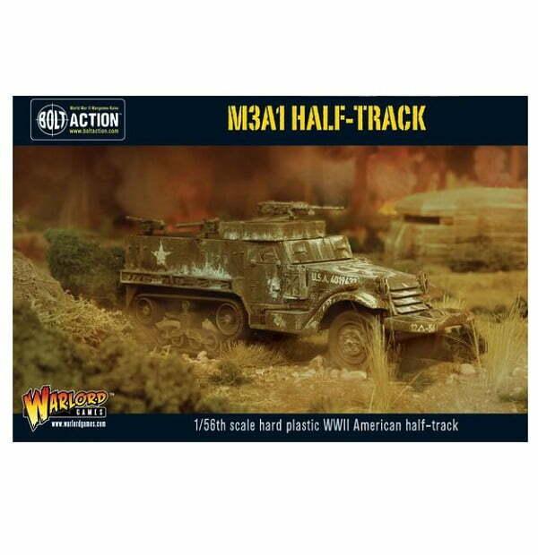 M3A1 Half-track plastic boxed set