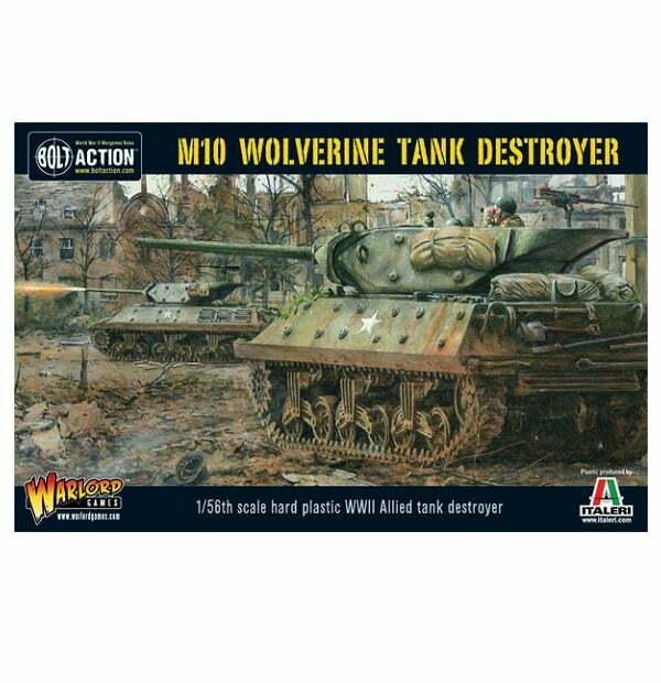 M10 Tank Destroyer / Wolverine (Plastic Box)
