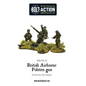 British Airborne Polsten Gun