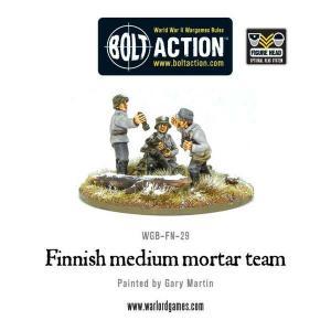 Finnish Medium Mortar Team