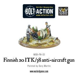 Finnish 20 ITK/38 Anti-Aircraft Gun