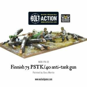 Finnish 75 PSTK/40 Anti-Tank Gun
