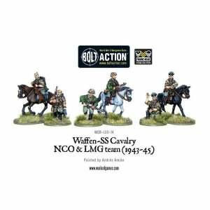 Waffen SS Cavalry NCO & LMG 1942-45