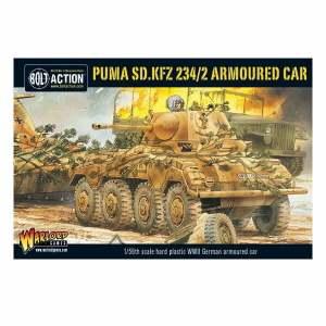 Puma Sd.Kfz 234/2 Armoured Car plastic box set