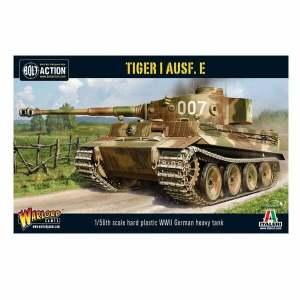 Tiger I Ausf. E heavy tank (plastic)