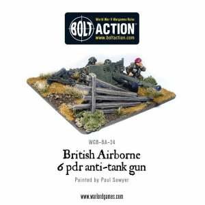 British Airborne Six Pounder AT-Gun