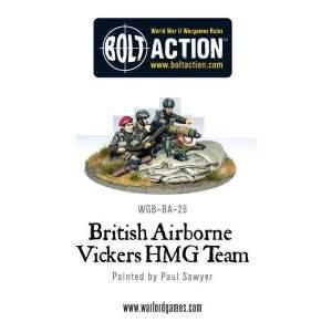 British Airborne Vickers MMG Team