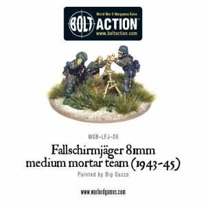 Fallschirmjager 81mm medium mortar team (1943-45)