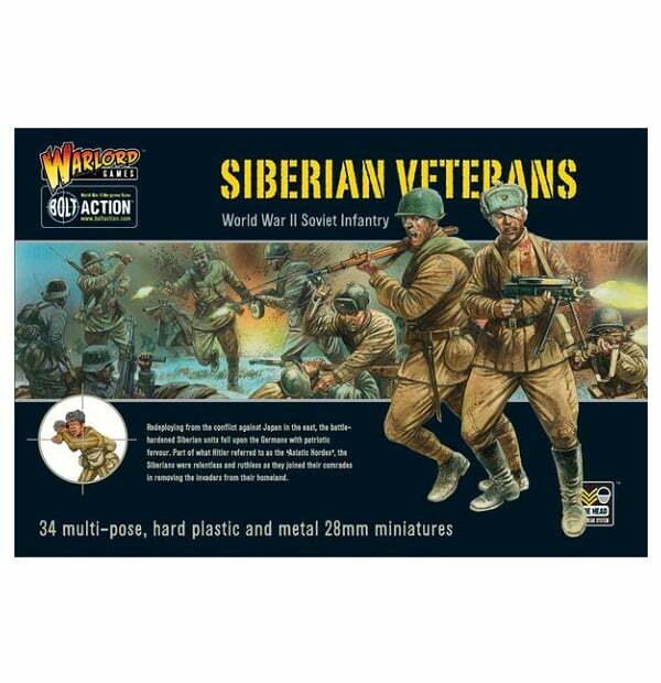 Siberian Veterans boxed set