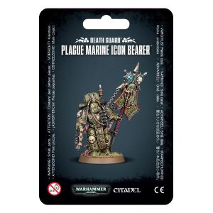 Death guard Plague Marine Icon Bearer