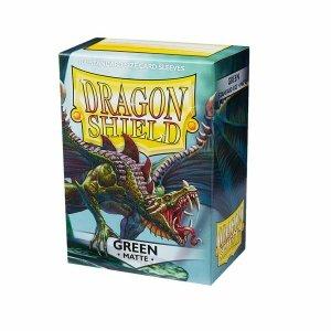 Dragon Shield Sleeves Matte Green 100