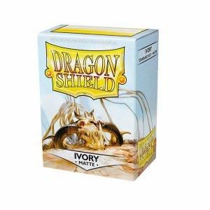 Dragon Shield Sleeves Matte Ivory 100