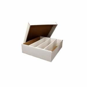 Trading Card Storage Box (4000 ct.) - Half Lid