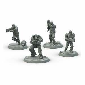 Fallout: Wasteland Warfare- Brotherhood of Steel: Frontline Knights