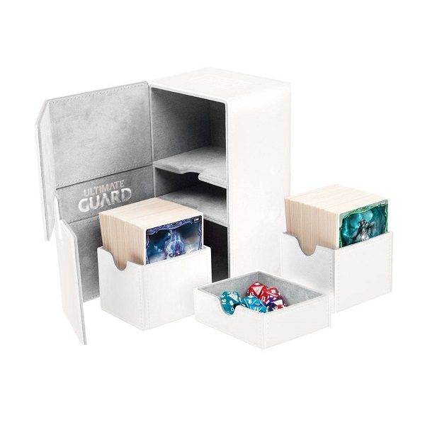 Ultimate Guard Twin Flip´n´Tray Deck Case 160+ White