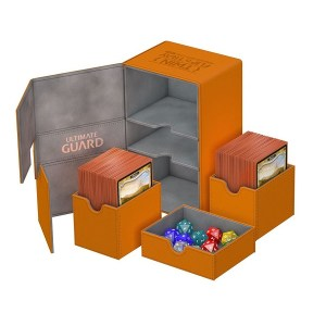 Ultimate Guard Twin Flip´n´Tray Deck Case 160+ Orange