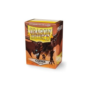 Dragon Shield Matte Sleeves Copper 100