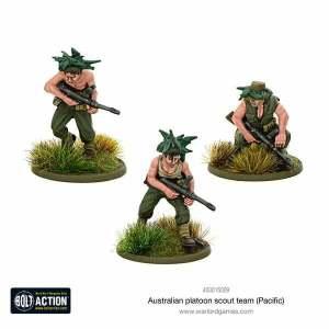 Australian platoon scout team (Pacific)