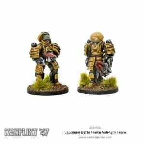 Japanese Battle Frame Anti-tank Team