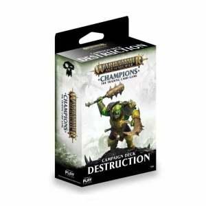 Warhammer Age of Sigmar: Champions - Destruction Campaign Deck