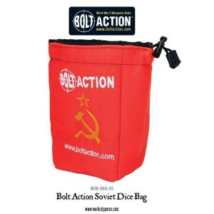 Bolt Action Soviet Dice Bag and Order Dice