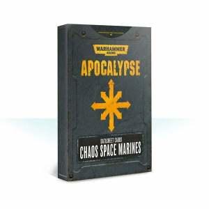 Apocalypse Datasheet Cards: Chaos Space Marines