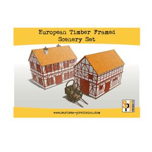 European Timber Frame Scenery Set