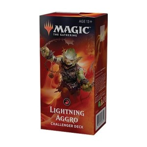 Magic the Gathering: Lightning Aggro Challenger Deck
