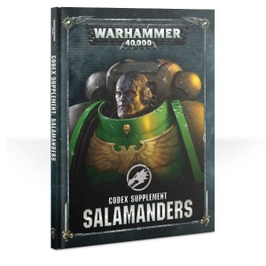 Salamanders Codex Supplement