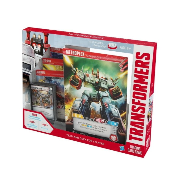 Transformers Trading Card Game: Metroplex Deck