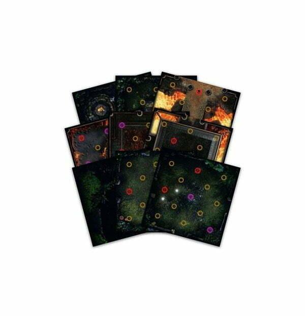 Dark Souls™ - The Board Game Darkroot Basin and Iron Keep Gaming Tile Set