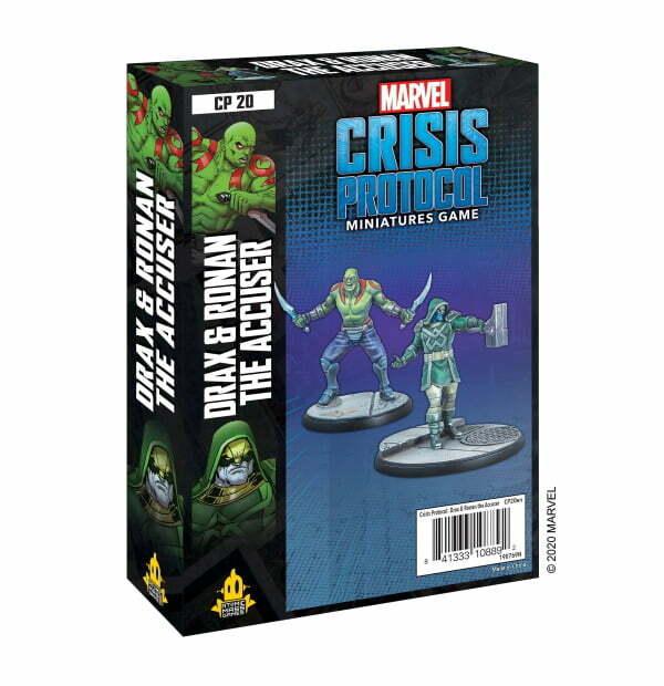 Marvel Crisis Protocol: Drax and Ronan the Accuser