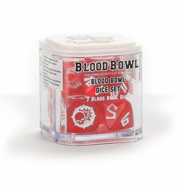 Blood Bowl Dice Set
