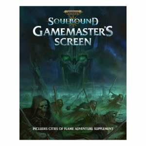 Warhammer Age of Sigmar Soulbound Gamemaster's Screen